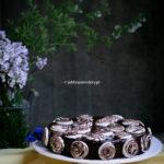 Marmurkowy sernik podwójnie czekoladowy