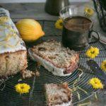 Ciasto cukiniowo-kokosowe z żurawiną.