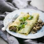 Delikatne ruloniki z omletów (albo Jednoskładnikowe naleśniki bezglutenowe).