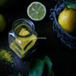Zero waste – 12 sposobów na skórkę z cytryny.