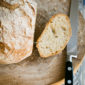 Najprostszy. Chleb pieczony w garnku.